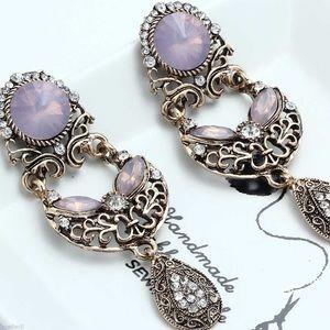Gorgeous Rhinestone Earrings